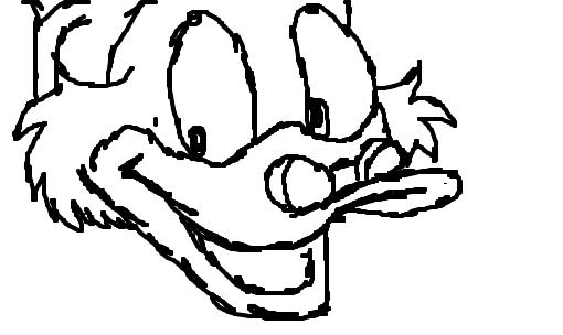 Tio Patinhas Desenho De Mlucca Gartic