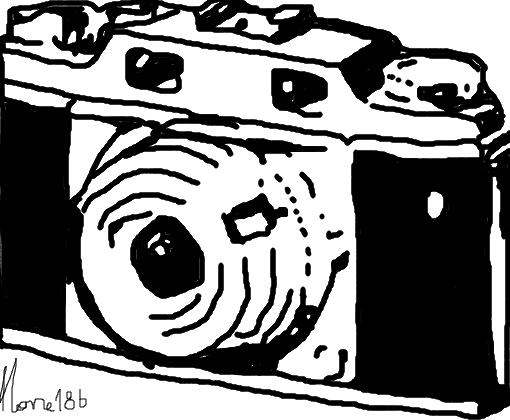 Camera Fotografica Desenho De Mone186 Gartic