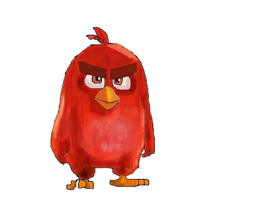 Desenhos Para Imprimir Do Angry Birds: Desenho De Mutanjoni