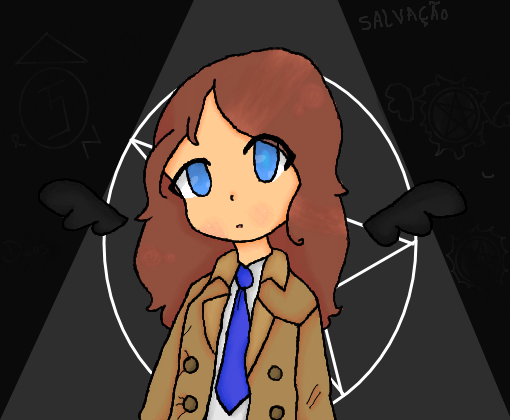 Cosplay de Castiel (Supernatural)