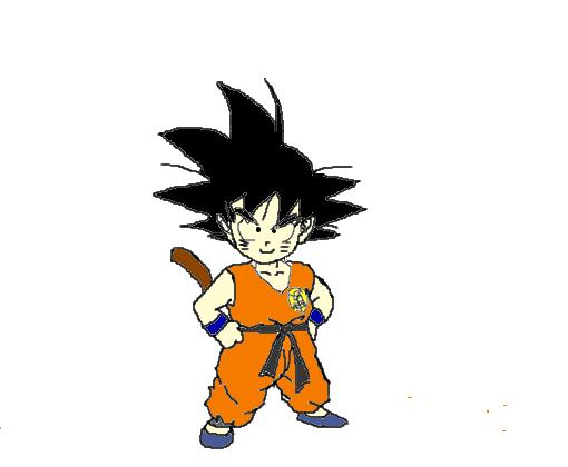 Son Goku Desenho De Nanadaimehokage Gartic