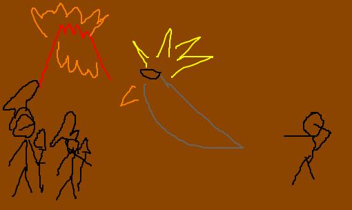 arte rupestre xd desenho de nathangm gartic