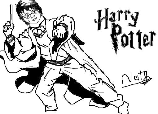 Dibujos Para Colorear Harry Potter: Desenho De Nathferreira1