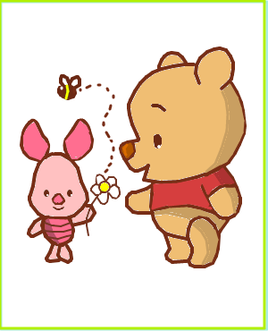 Cute Baby Pooh Bear Coloring Pages
