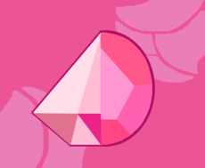 Pink Diamond/Rose Quartz