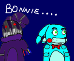 Old Bonnie & Toy Bonnie