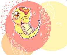 #010 caterpie (yurikka)