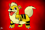 #058 Growlithe - (_Sokka)