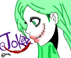 Joker Girl Fanart
