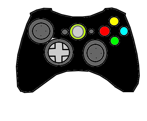 Controle Xbox Desenho De Ocofataldomilenio Gartic