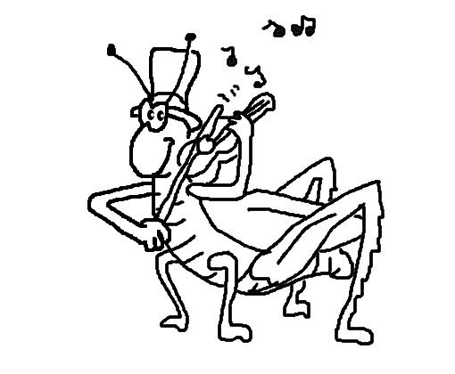 Cigarra desenho de olokomeu312 gartic - Dessin de cigale ...