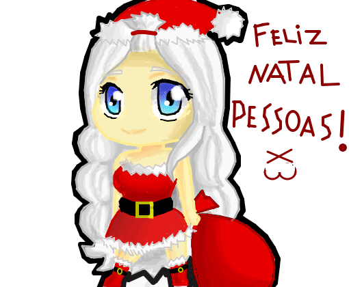 Feliz Natal Pessoal 3 Desenho De Otome Girl 132 Gartic