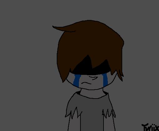 Adolescente Depressivo FNaF 4SL Desenho De Otwiixmuted
