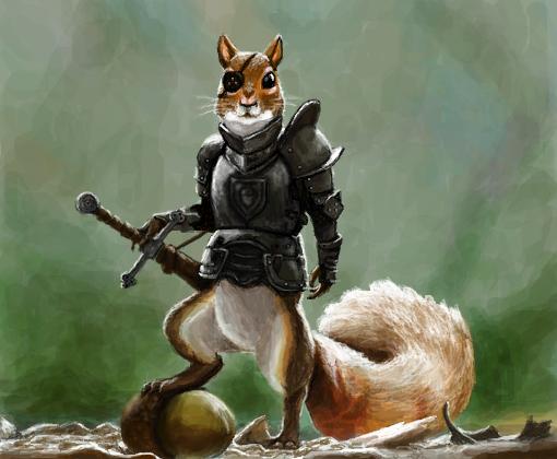 squirrel warrior desenho de pancakes gartic