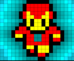 Iron Man - Pixel