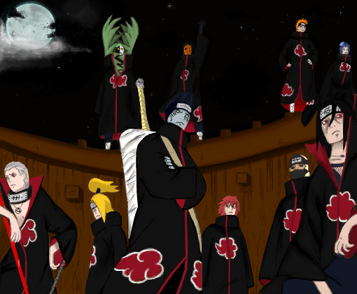 Akatsuki revived in the night
