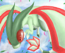 Flygon p/ Umbreon_