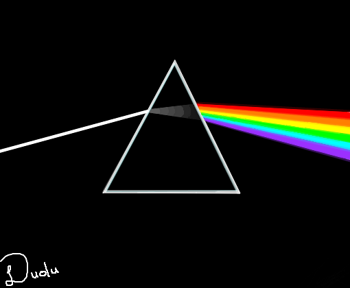 The dark side of the moon desenho de paulodudu gartic for Dark side of the moon mural
