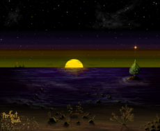 Sea at night II