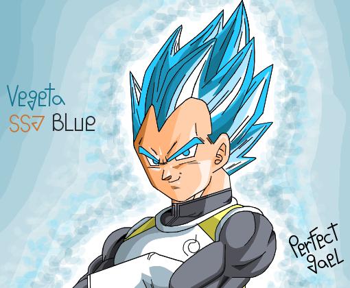 Vegeta Ssj Blue Desenho De Perfect Gael Gartic