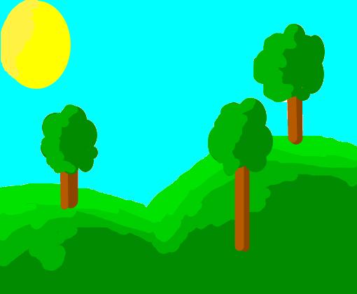 Floresta Desenho De Perrydot Gartic