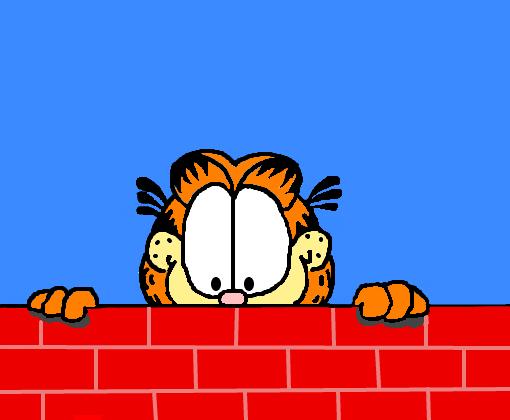 Garfield Desenho De Pessimist Gartic