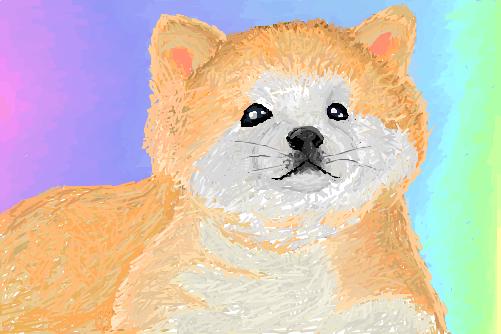 Cachorrinho filhote de Akita