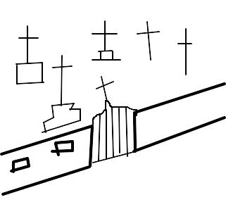 cemitério desenho de pipoquinha gartic