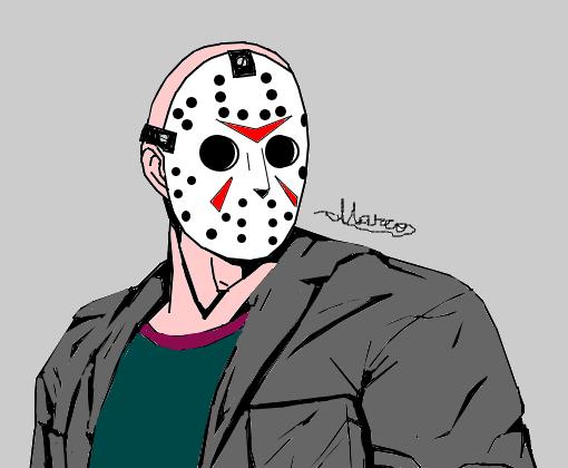 Jason Friday The 13th Desenho De Pizzaaaa Gartic