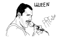 Fred Mercury Queen
