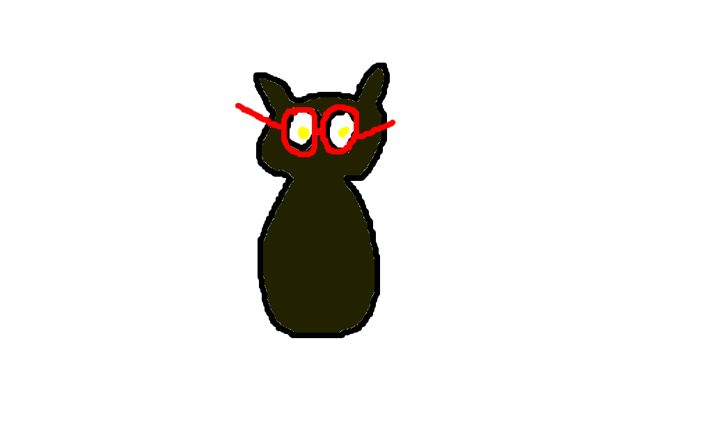Coruja De Oculos Desenho De Purezinha Gartic