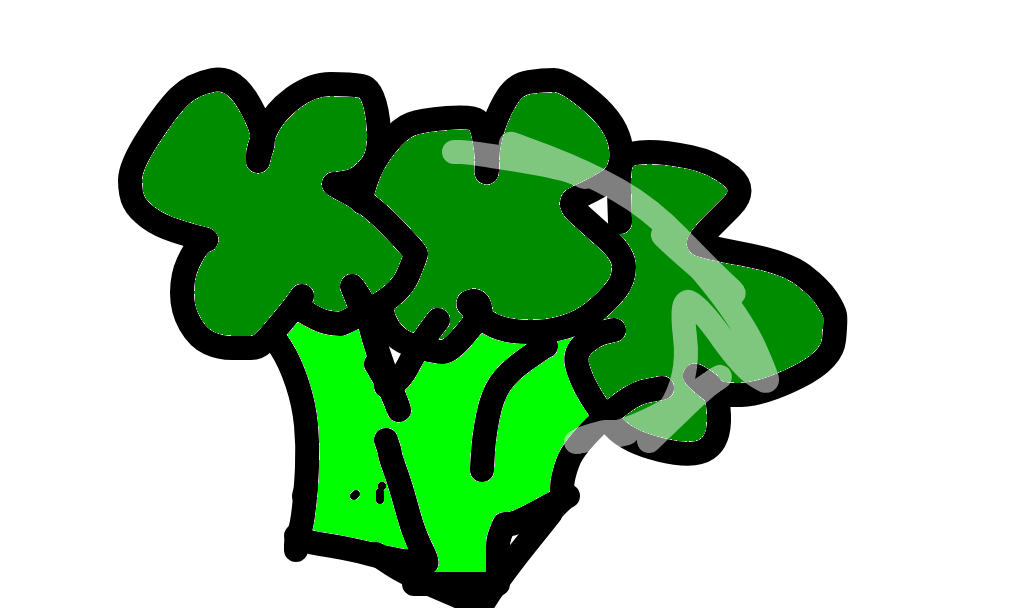 brócolis desenho de queenofkpop gartic