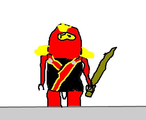 Kai Ninjago Desenho De R0dr1g0 369 Gartic