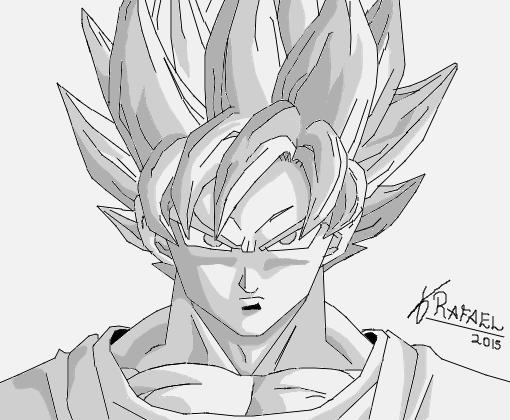 Favoritos Goku - Desenho de rafaelwo - Gartic QH94