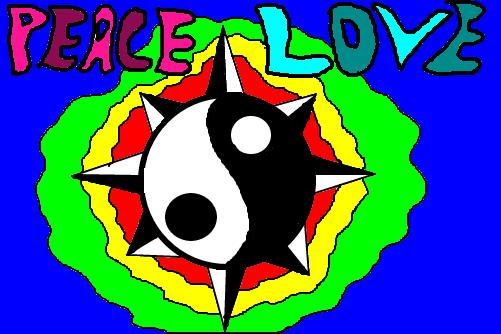 Paz E Amor Desenho De Raonicarvalho Gartic