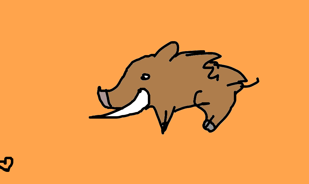 javali desenho de raposasuburbana gartic