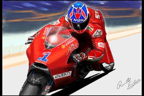 nick hayden moto gp 2011 desenho de renators gartic