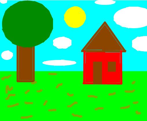 Uma Casa Na Floresta Desenho De Renatta0202 Gartic