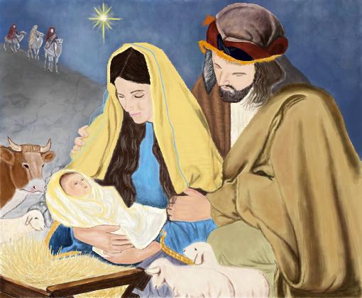 Nascimento De Jesus Cristo Desenho De Rick Fire Gartic
