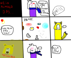 School Gartic Comic #3
