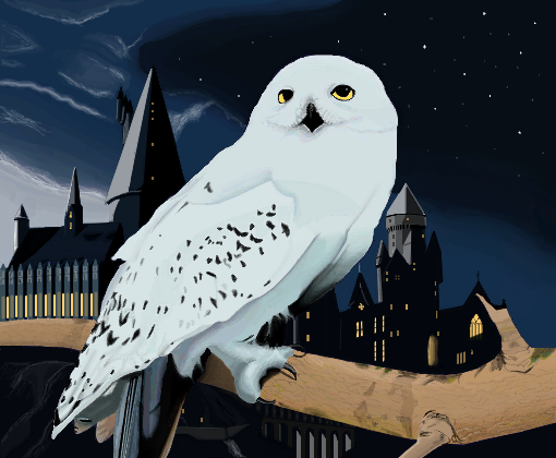Hedwig Edwiges Desenho De Robertplant04 Gartic