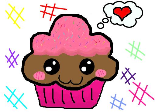cupcake desenho de rossanagatinha gartic