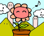 the happy flower