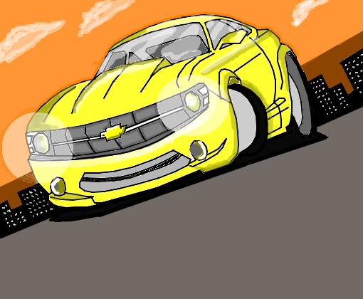 Camaro Amarelo Desenho De Ryanperes Gartic