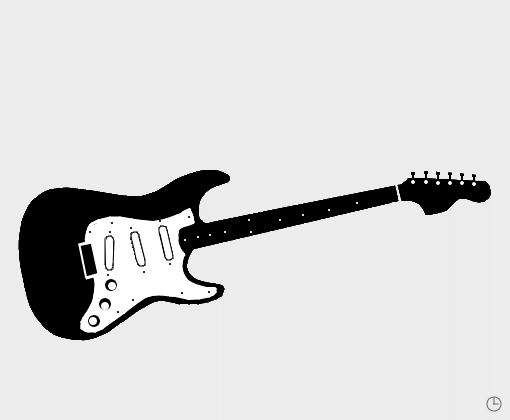 Guitarra Desenho De Sad Gabriel Gartic