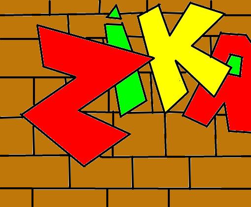 Pixacao Vandalismo Desenho De Sam Spn Gartic