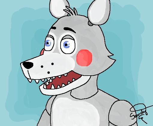 Wolfy Lobo Animatronic Desenho De Sandybr Gartic