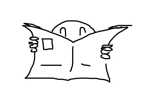 Resultado de imagem para jornal desenho