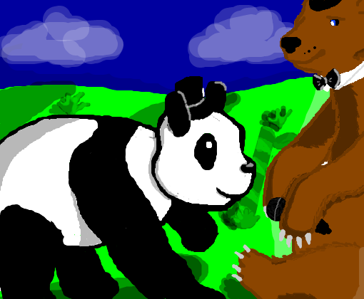 Panda and Freddy (para __Pandinha__ )