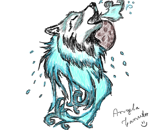 Lobo Desenho De Secondstokill Gartic